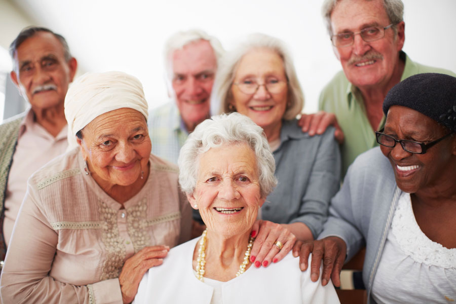 Happy Senior Citizens_Ursuline Support Services
